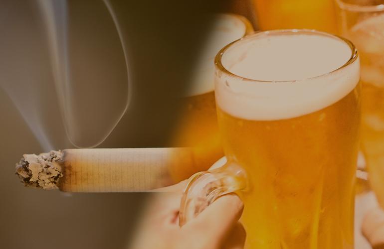 飲酒・喫煙イメージ
